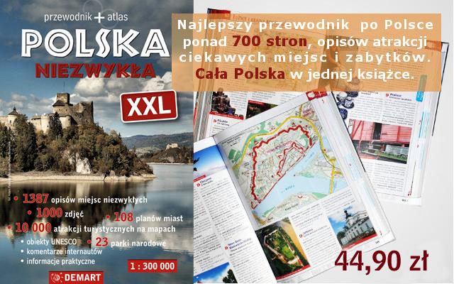 Atlasy Polska Niezwykla w naszym sklepie